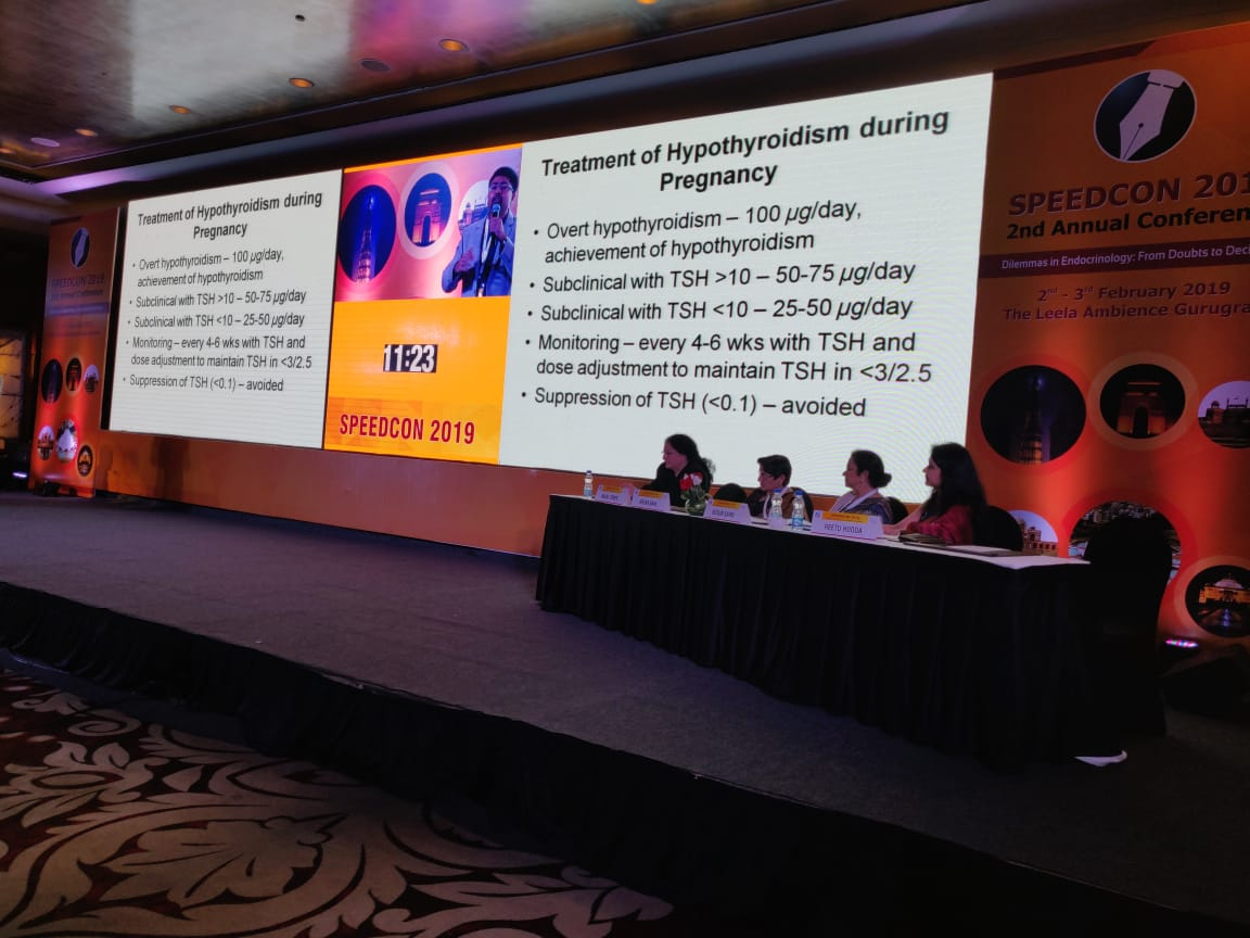 Gyne-Endocrinology workshop at the second annual conference SPEEDCON