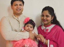 <span>, Smita, Rajib & Roosha Dev</span>